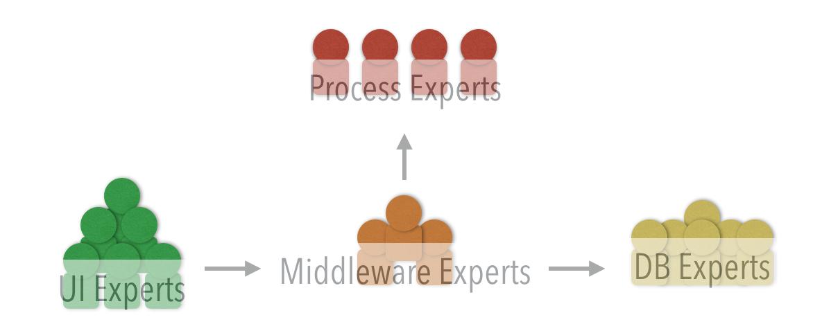Technical organization of teams